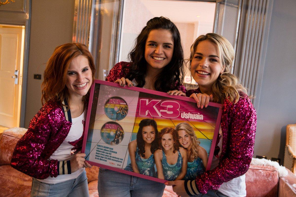 Hier is ushuaia het nieuwe album van k3 - Foto van de show ...